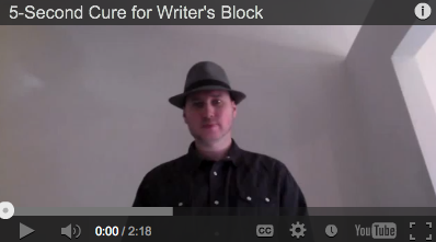 Instantly cure writer's block forever with this simple, but powerful technique.